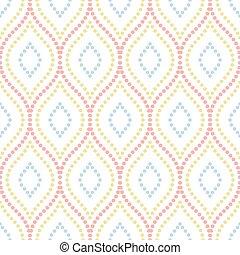 geometrisch patroon, vector, seamless