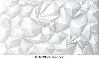 geometrisch, vector, polygonal, driehoek, achtergrond, veelhoek, abstract