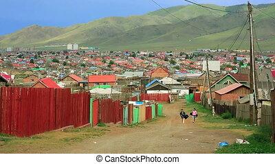 ger, ulaanbaatar, mongools, voorsteden