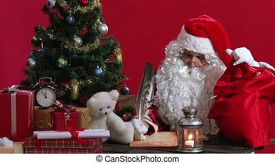 gereed, kerstmis, krijgen