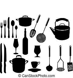 gereedschap, diversen, keuken
