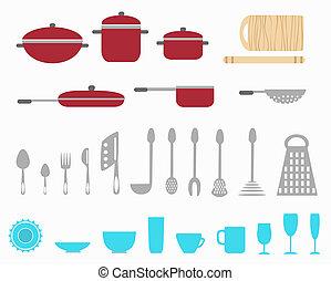 gereedschap, keuken