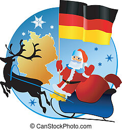 germany!, kerstmis, vrolijk