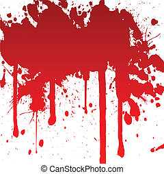 gespetter, bloedig