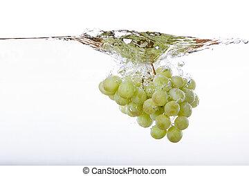 gespetter, druiven