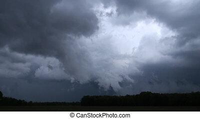gevaarlijk, storm