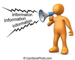 geven, informatie
