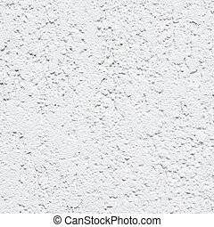 geverfde, beton, witte muur