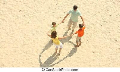 gezin, dancing