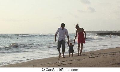 gezin, kust