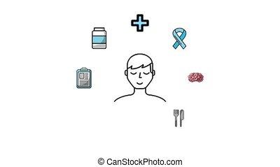 gezonde , medisch, levensstijl