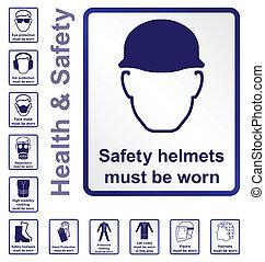 gezondheid, veiligheid, tekens & borden
