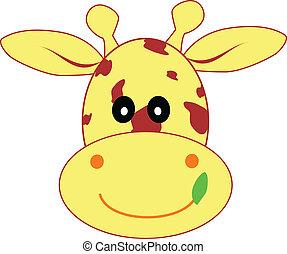 giraffe, illustratie