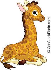 giraffe kalf