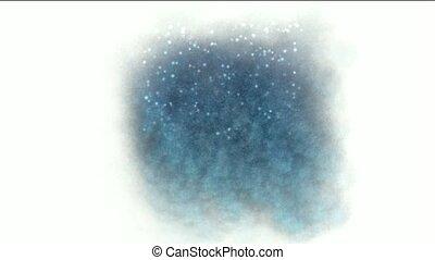 glanzen, partikels, firefly