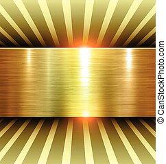glanzend, goud, achtergrond