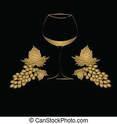 glas, conceptontwikkeling, wijntje, menu