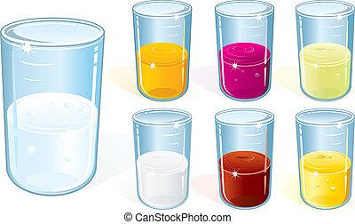 glas, drank