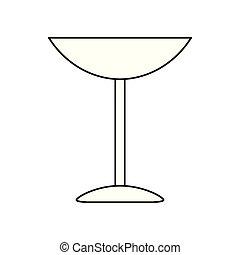 glas, stijl, wijntje, ouderwetse , pot