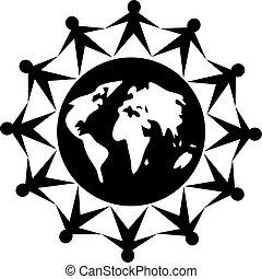 globaal, mensen