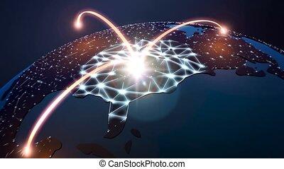 globe, netwerk