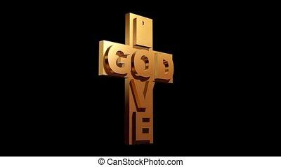god, liefde, kruis