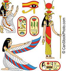 godin, isis, egyptisch