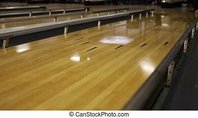 gooien, bal, la, wezen, dons, bowling