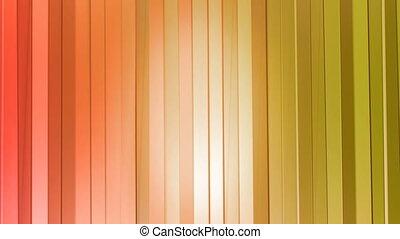 gordijnen, stijl, achtergrond, helling, moderne, seamless, poly, 3d, helder, animatie, colors., schoonmaken, loop., sinaasappel 2, geometrisch, 4k, rood, laag