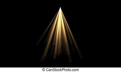 goud, straal, licht, zonlicht