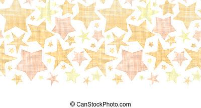 gouden achtergrond, model, seamless, textiel, sterretjes, textured, horizontaal