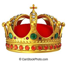gouden kroon, koninklijk