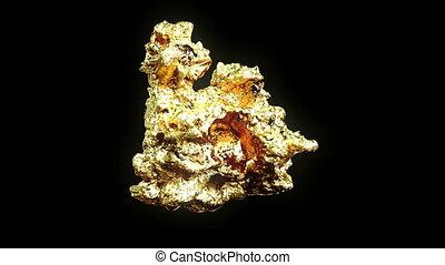 goudklomp, gouden
