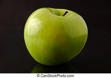 granny smith, vrijstaand, appel