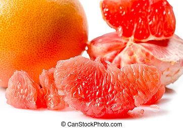 grapefruit, sappig