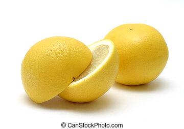 grapefruits, gele