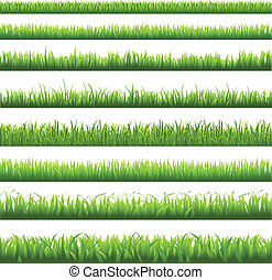 gras, grens, groene