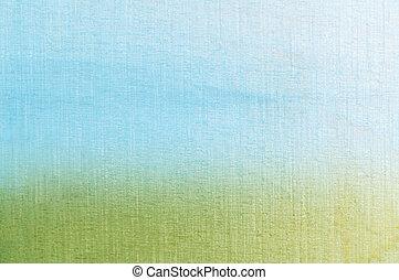 gras, hemel, achtergrond, textured