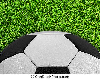 gras, soccerball