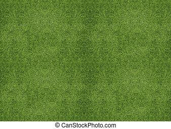 grasland, groene, textuur