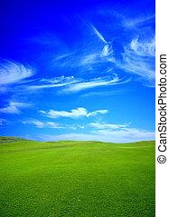 groene, golf