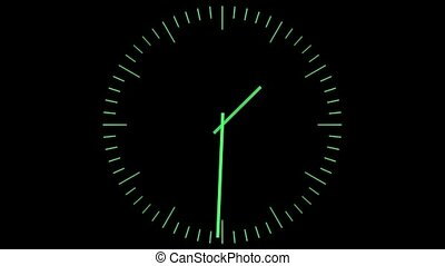 groene, klok