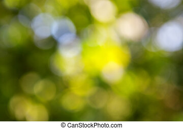 groene samenvatting, natuurlijke , bokeh, achtergrond
