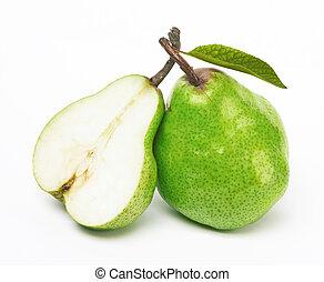 groene, twee, peren