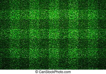 groene, voetbal, gras, achtergrond, akker