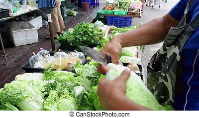 groente, winkel