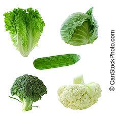 groentes, groene