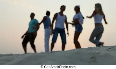 groep, dancing