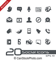 //, grondbeginselen, sociaal, iconen