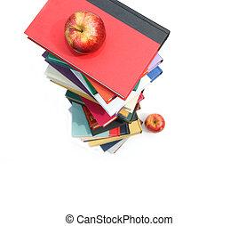 groot, appeltjes , aambeien, boekjes , witte